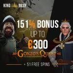 King Billy Casino Bonus And  Review news