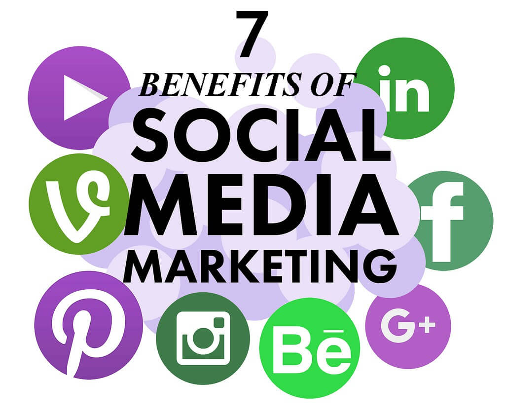 Benefits of social media marketing, Social media logos