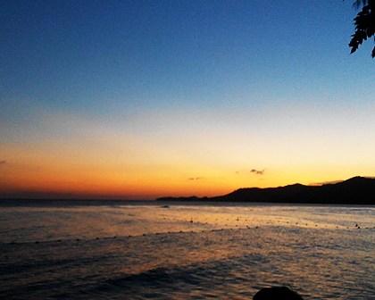 Sunset Pantai Boalemo Indah