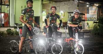 Trio BMC di Audax 1000K Yogya