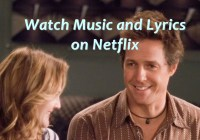 music and lyrics on Netflix