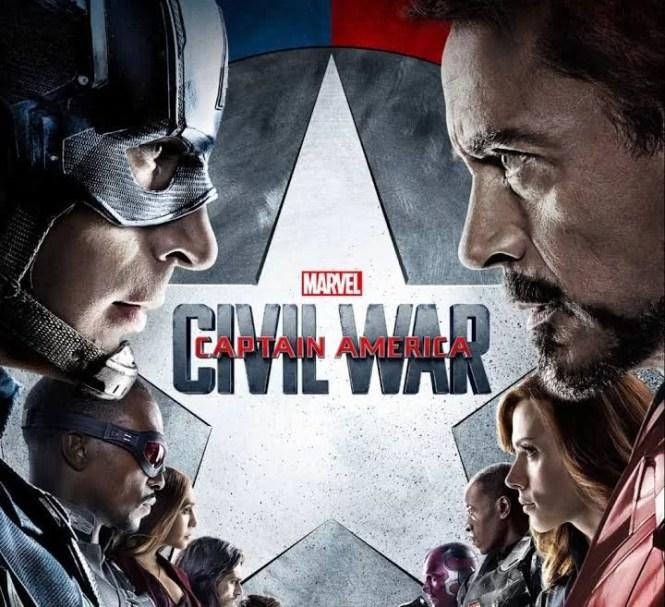 Captain America Civil War on Netflix