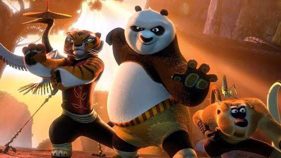 Kungfu Panda available on netflix
