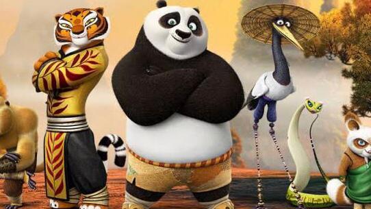 Kungfu Panda Netflix animated movie