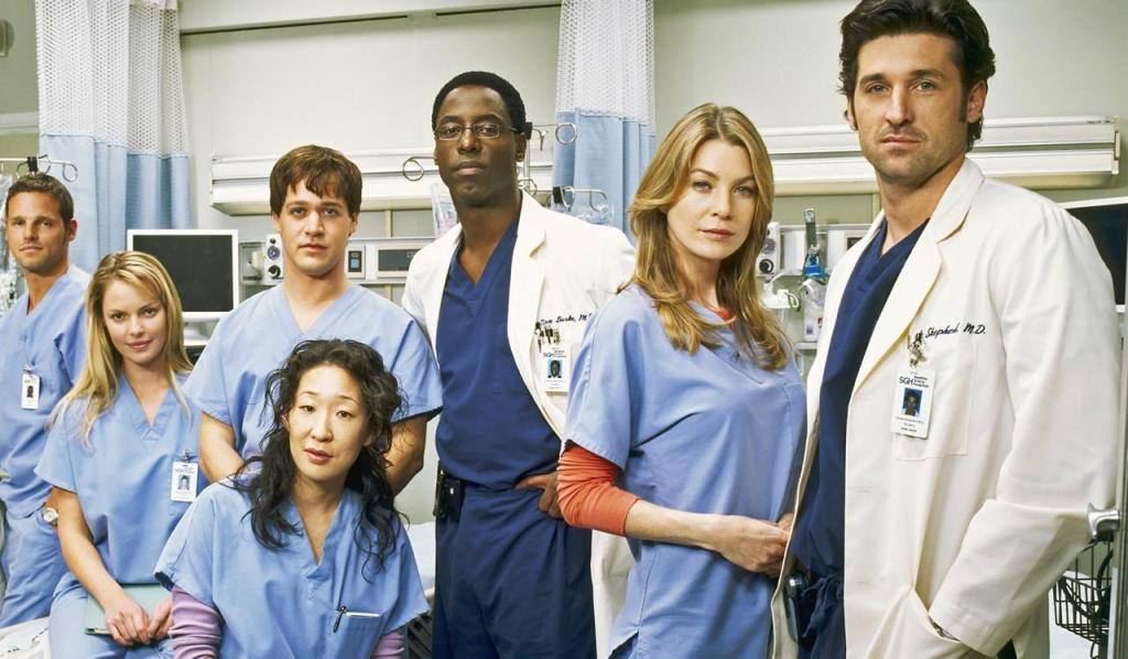 Grey's Anatomy Show available on Amazon Prime