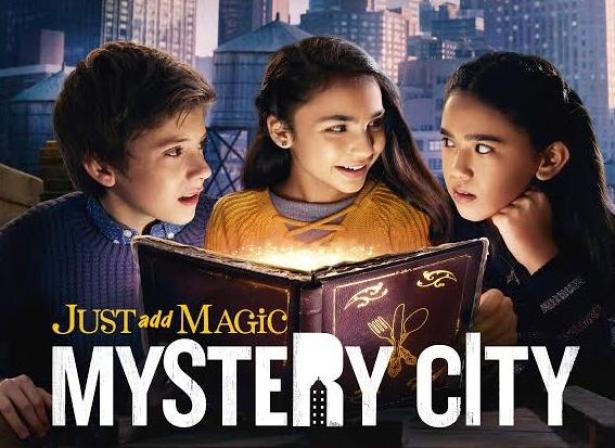 Just Add Magic Mystery City amazon original show