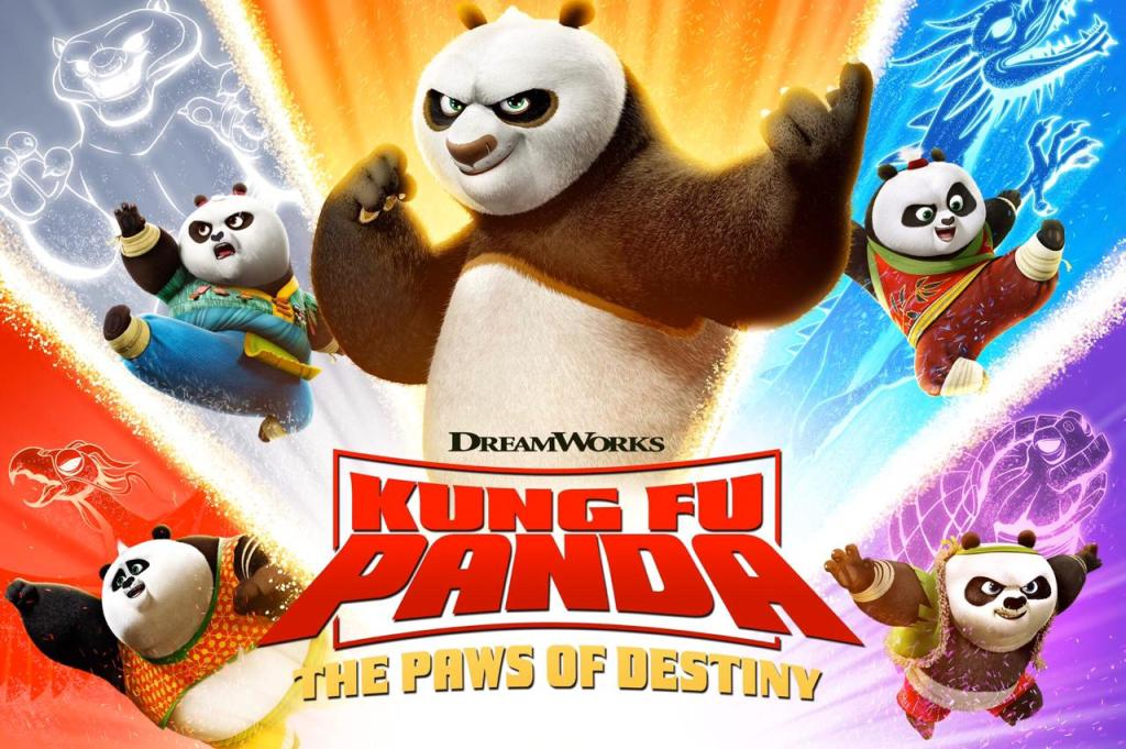 Kung fu Panda: The Paws of Destiny amazon prime