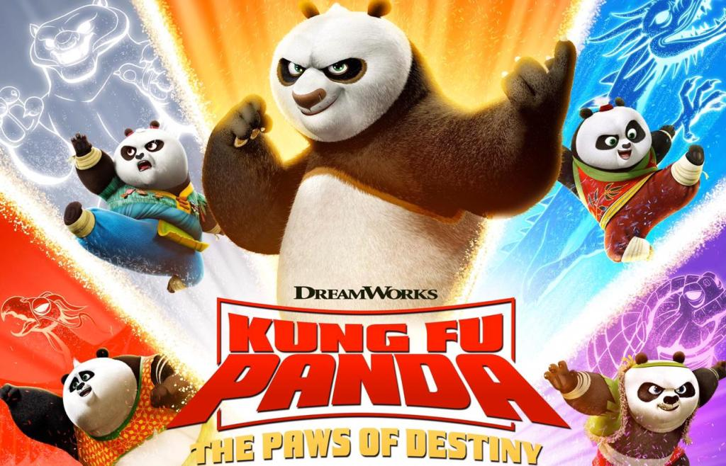Kungfu Panda the paws of destiny amazon prime series