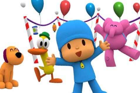 Pocoyo show for toddlers on Amazon Prime