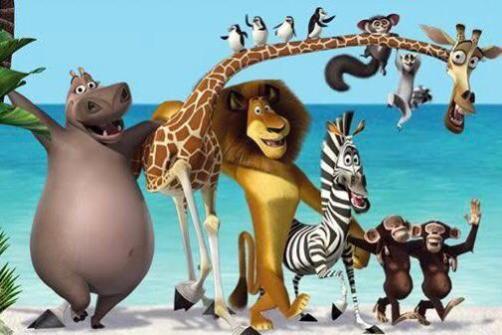 Best cartoon movie on netflix is Madagascar
