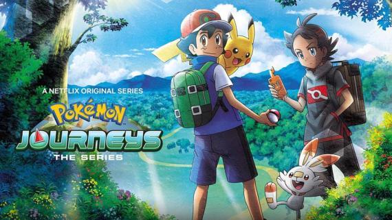 English Dubbed anime Pokemon Journeys: The Series