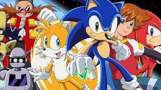 Sonic X  english dubbed anime on netflix