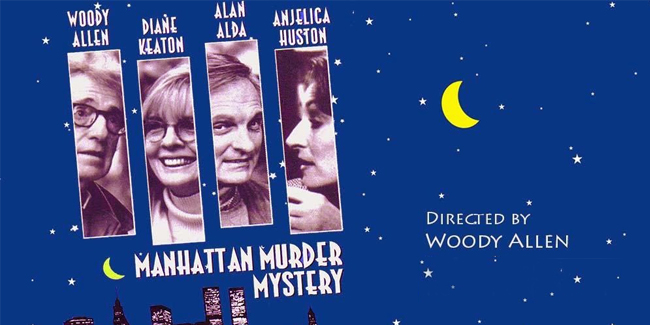 Misterioso asesinato en Manhattan, un policial en tono de comedia