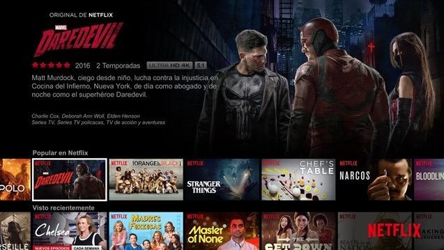 Netflix ya llega a 540.000 hogares en España