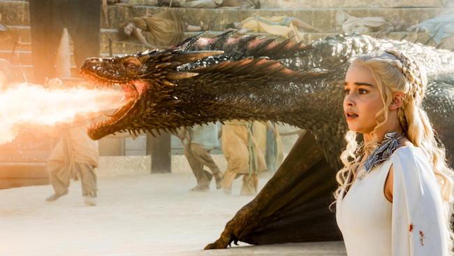 dragones de Daenerys
