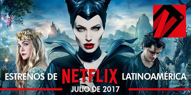 Netflix, estrenos en julio de 2017 en Latinoamérica
