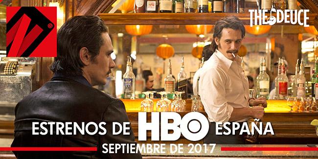 Estrenos septiembre 2017 para HBO España