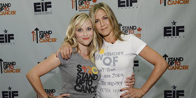 Jennifer Aniston y Reese Whiterspoon juntas en una serie de ¿HBO o Netflix?