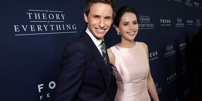 Eddie Redmayne y Felicity Jones reunidos por Amazon Studios