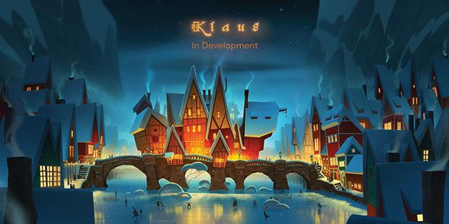 Netflix compra los derechos de Klaus, filme animado de Sergio Pablos