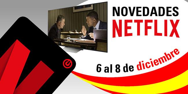 Novedades Netflix España: del 6 al 8 de diciembre de 2017