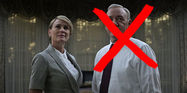 House of Cards continuará sin Frank Underwood