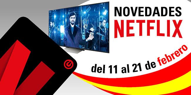 Novedades Netflix España: del 11 al 21 de febrero de 2018