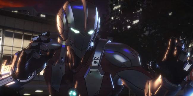 Ultraman, tráiler y poster del anime original Netflix que llegará el 1 de abril