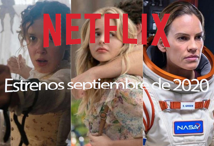 Estrenos de Netflix en septiembre 2020