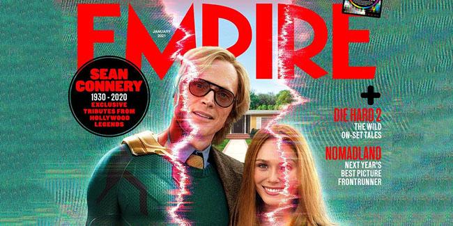 WandaVision: la tapa de Empire Magazine con Scarlet y Vision