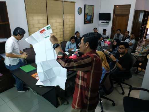 sekolah pemilu untuk para jurnalis bagian ke-2(4)