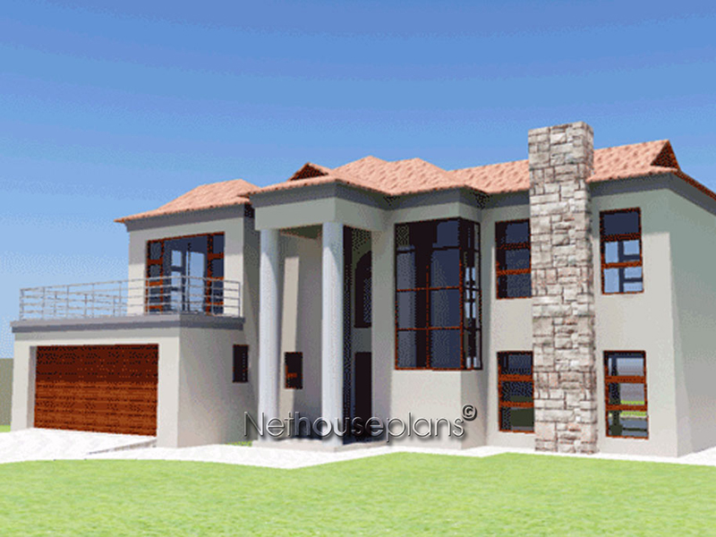 BA250D elevyes - View Modern 3 Bedroom House Plans In South Africa Pictures