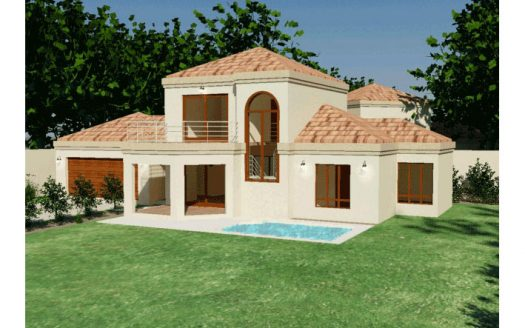 House Plans South Africa, 3 bedroom house plans south africa modest 3 bedroom home design by Nethouseplans double story 3 bedroom house plans