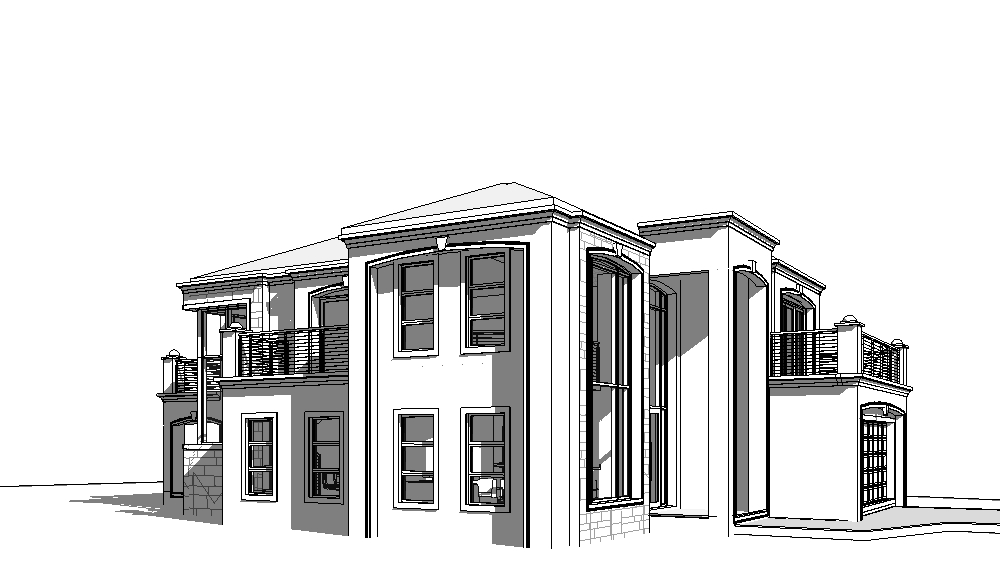 House Plans South Africa Double Storey | T418D ...
