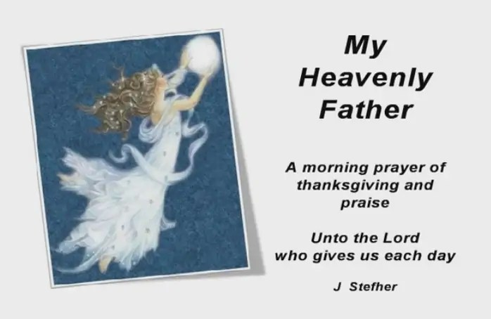 Patrick Day My Heavenly Father – NetHugs.com