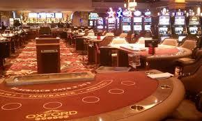 Inside Oxford Casino, Oxford Maine