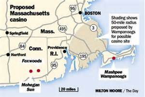 The Wampanoags proposal is outside their reservation in Massachussetts.