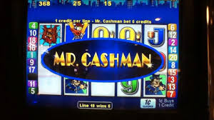Mr. Cashman Slot Machine