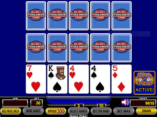 Video Poker Ultimate X - Triple Play