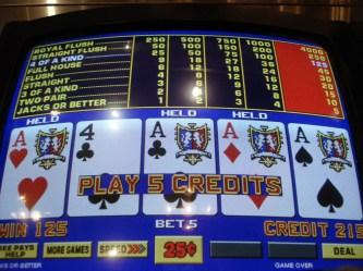 Choosing Video Poker Games
