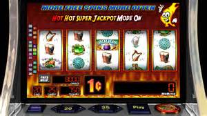 """Some slots have been on the casino floors for years, such as Bally's """"Hot Hot Jackpot."""""""
