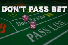 Don't Pass Bet in Craps