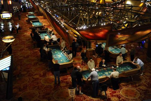 Casino Security View