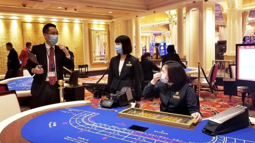 Two Morons Justify Casino Masks and Stuff