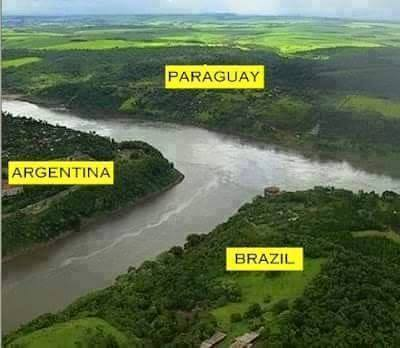 Amazing International Borders between Countries