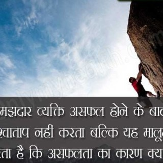 Hindi Quote on Success