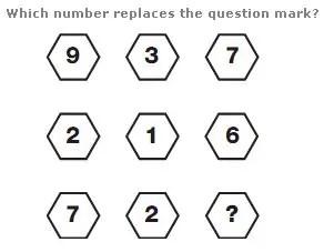 Logic math facebook puzzle