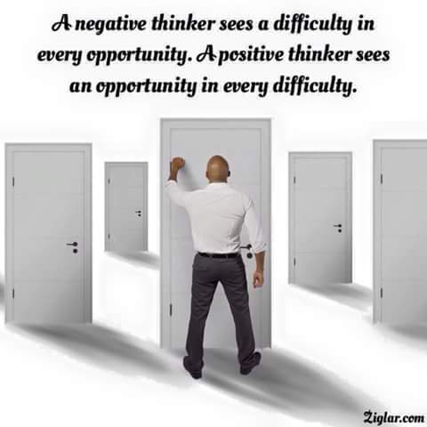 English Quotes – A negative thinker