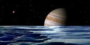 सौर मंडल का सबसे बड़ा चंद्रमा गेनीमेड
