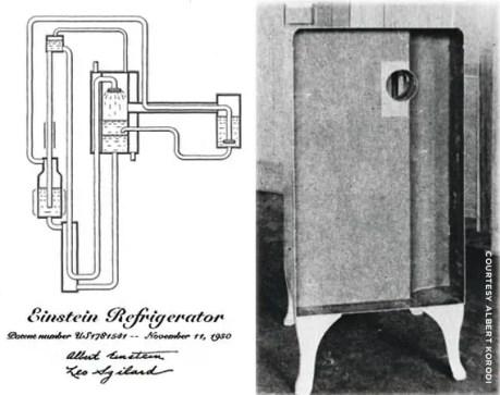 Einstein ka vigyan me yogdan refrigrator